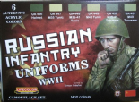 LC-CS42 Russian Uniforms WWII (22ml x 6)